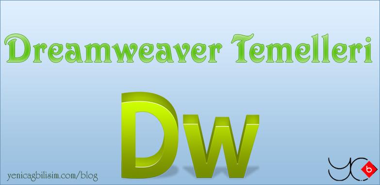 Photo of Dreamweaver Temelleri