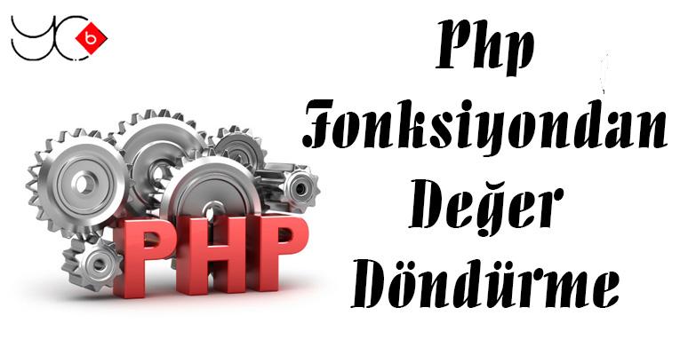 Photo of Php Fonksiyondan Değer Döndürme