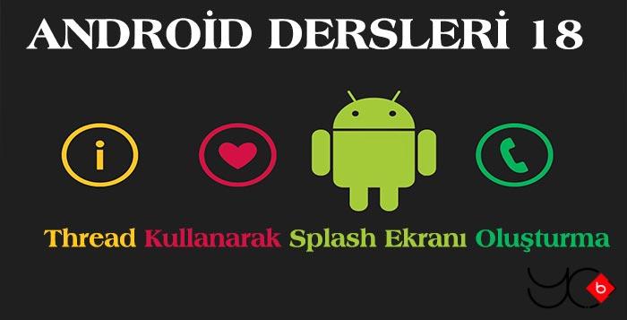 Photo of Android Dersleri 18