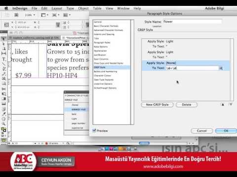 Photo of InDesign CS5 Style Kullanımı