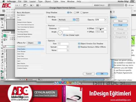 Photo of InDesign CS5 Change Object Format