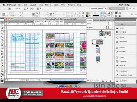 Photo of InDesign CS5 Sayfa Kontrolleri