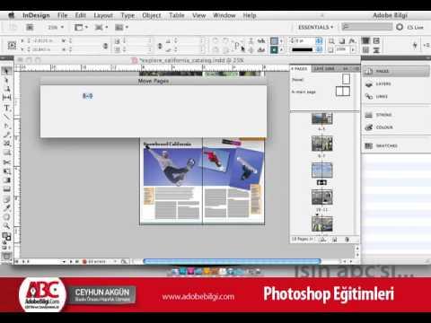 Photo of InDesign CS5 Sayfaların Yönetimi