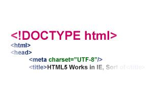 Doctype ne işe yarar